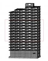 20-ти этажное жилое здание (2). Сейсмичность 9 баллов.
