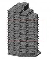 20-ти этажное жилое здание (3). Сейсмичность 9 баллов.