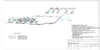 Схема технологических трубопроводов.