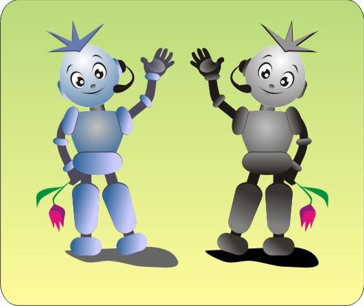 """Модель Робота - Ребёнка """"Роботёнок"""" фото f_4b89763d753f1.jpg"""