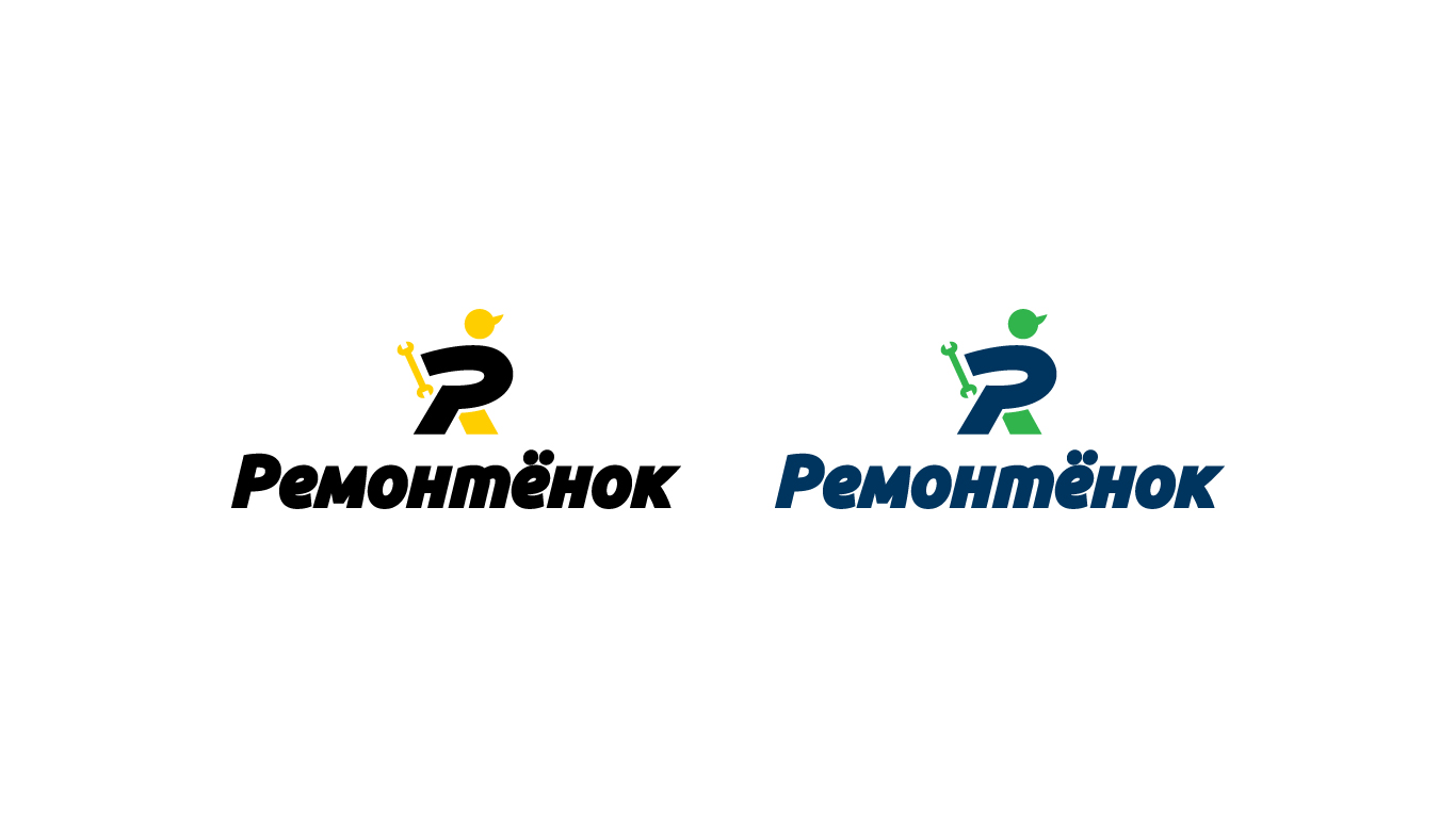 Ремонтёнок: логотип + брэндбук + фирменный стиль фото f_0295958fe79e679a.jpg
