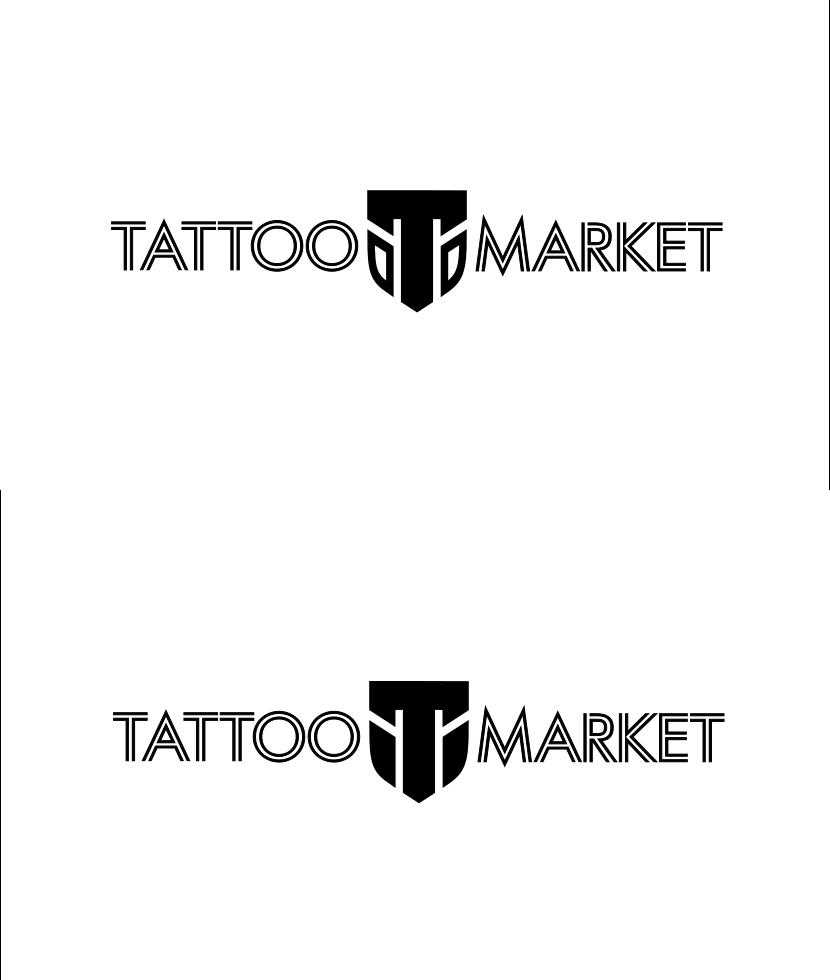 Редизайн логотипа магазина тату оборудования TattooMarket.ru фото f_0515c3f9035111cc.png
