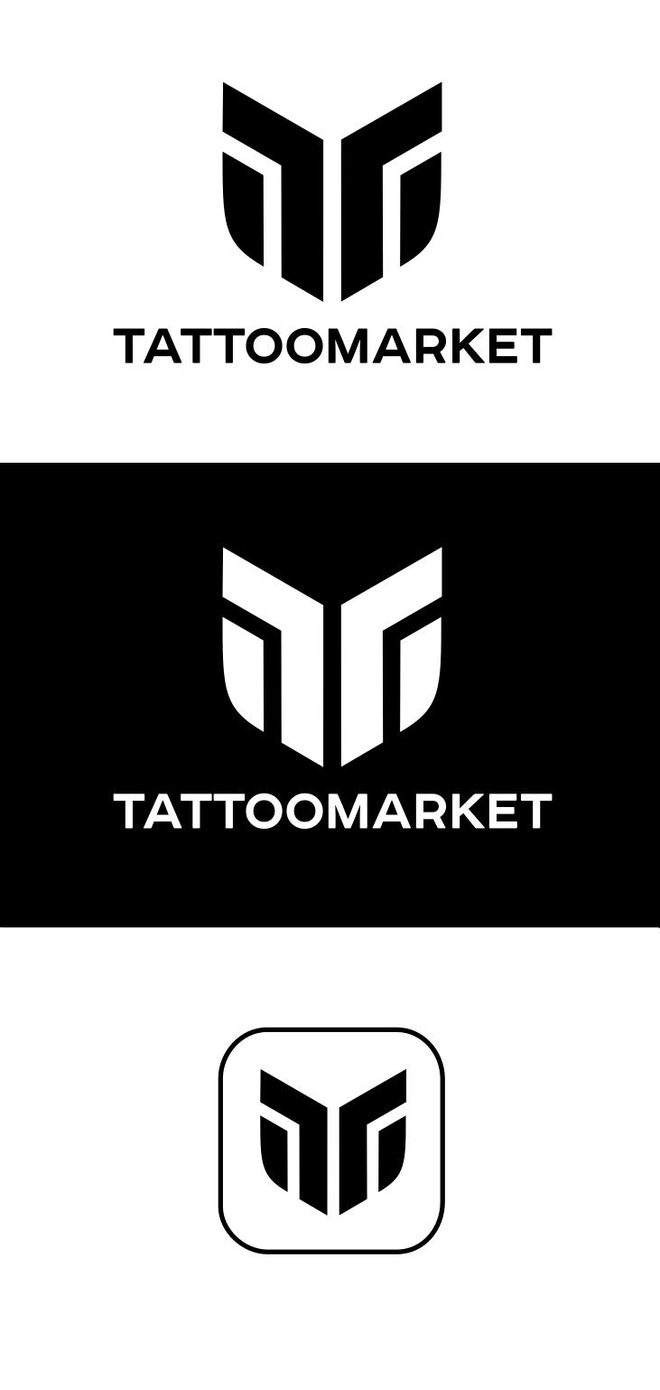 Редизайн логотипа магазина тату оборудования TattooMarket.ru фото f_1115c3aeb8f1d833.png
