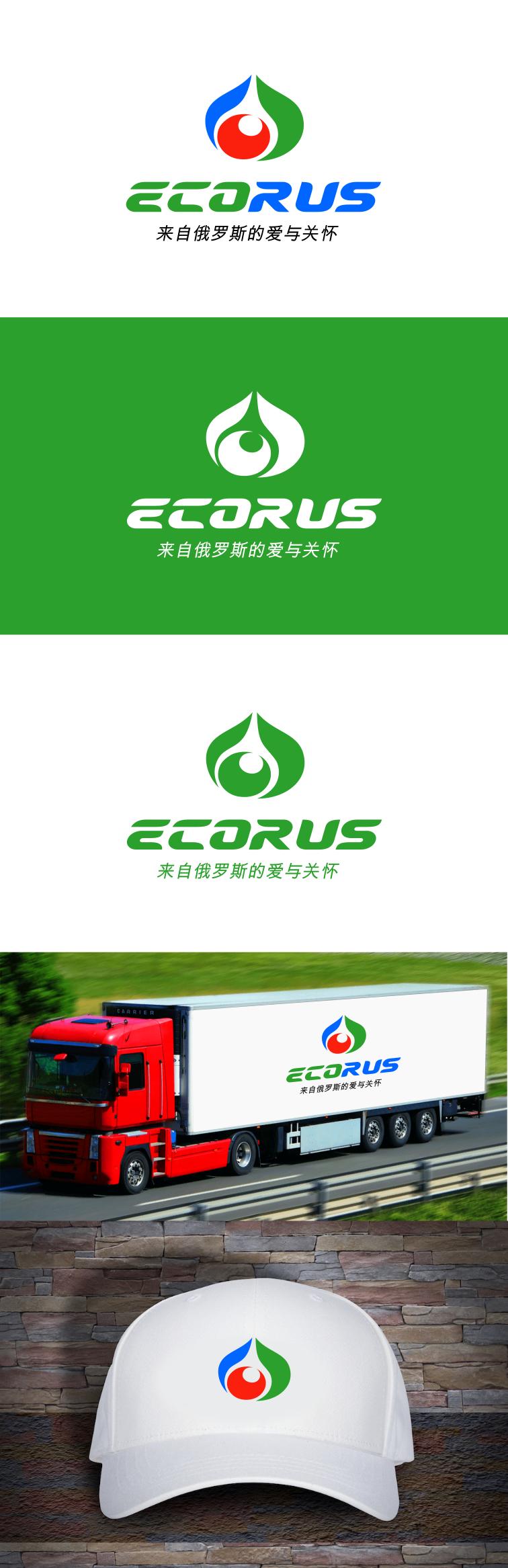 Логотип для поставщика продуктов питания из России в Китай фото f_4405ec00663944cd.png