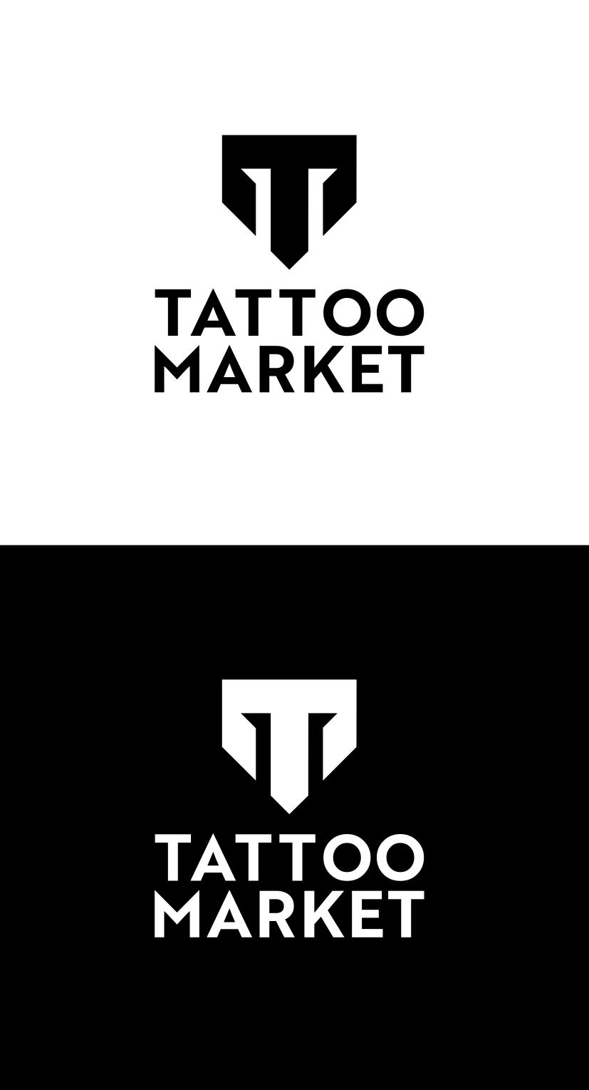Редизайн логотипа магазина тату оборудования TattooMarket.ru фото f_5225c430351d6aaa.png