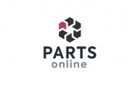 Вариант логотипа для компании - поставщика автозапчастей.