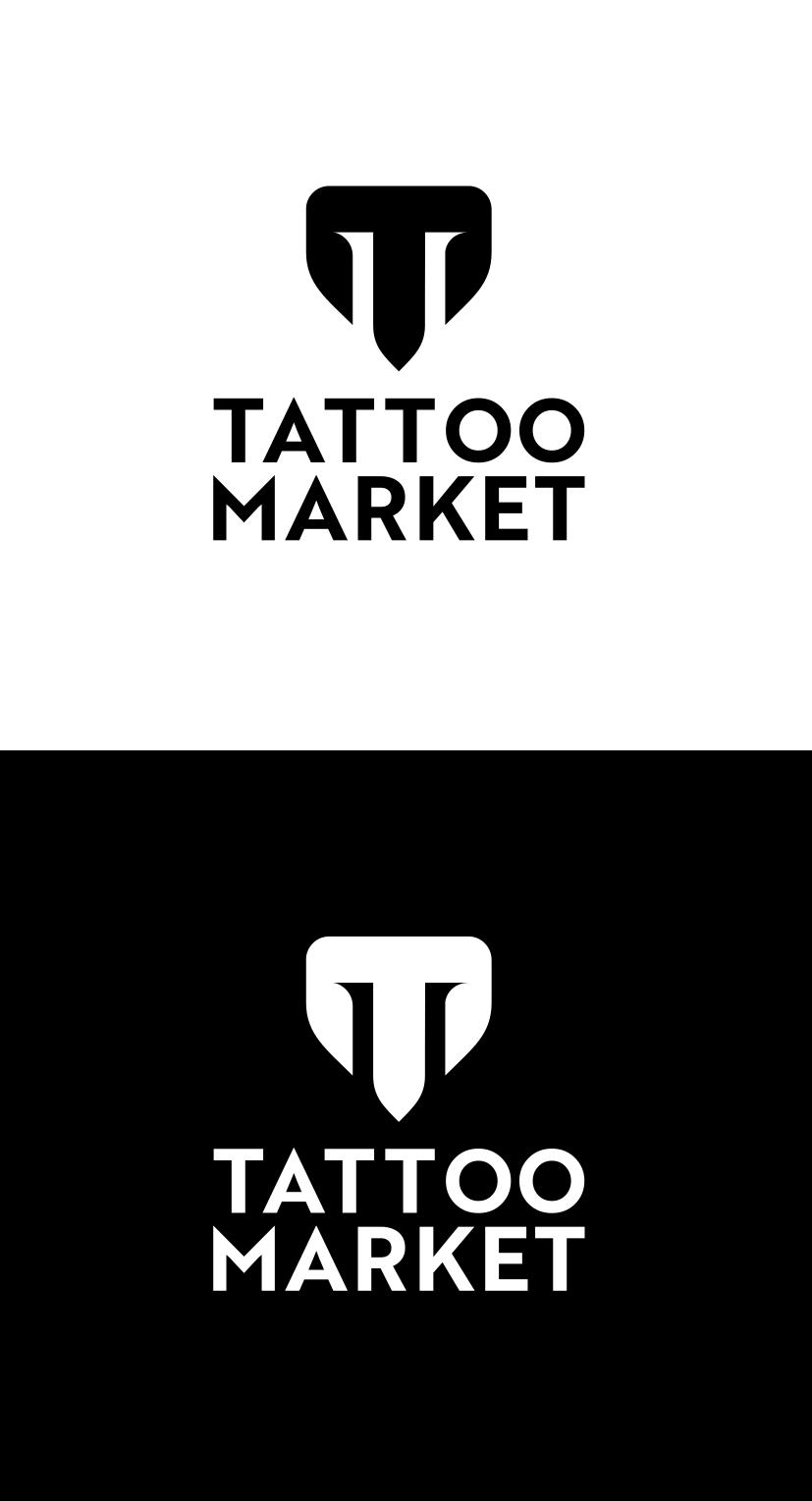 Редизайн логотипа магазина тату оборудования TattooMarket.ru фото f_9925c4301939d74c.png