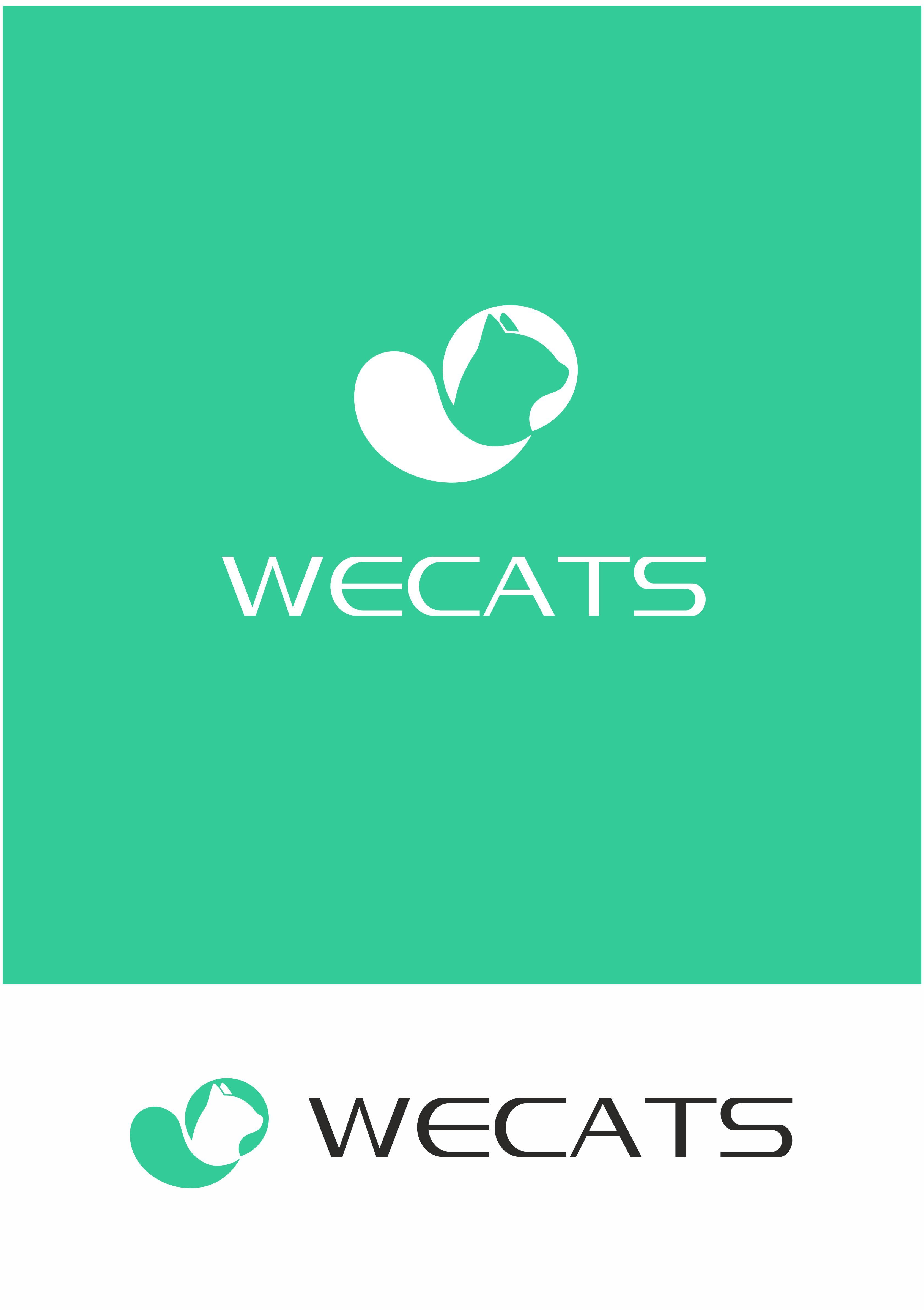 Создание логотипа WeCats фото f_9485f19233572107.jpg