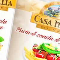 Упаковки для зонтичного бренда Casa Italia