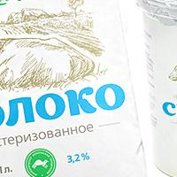 Линейка молочных продуктов для «Дашковка»