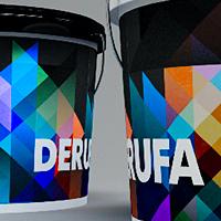 Линейка красок «Derufa Profi»