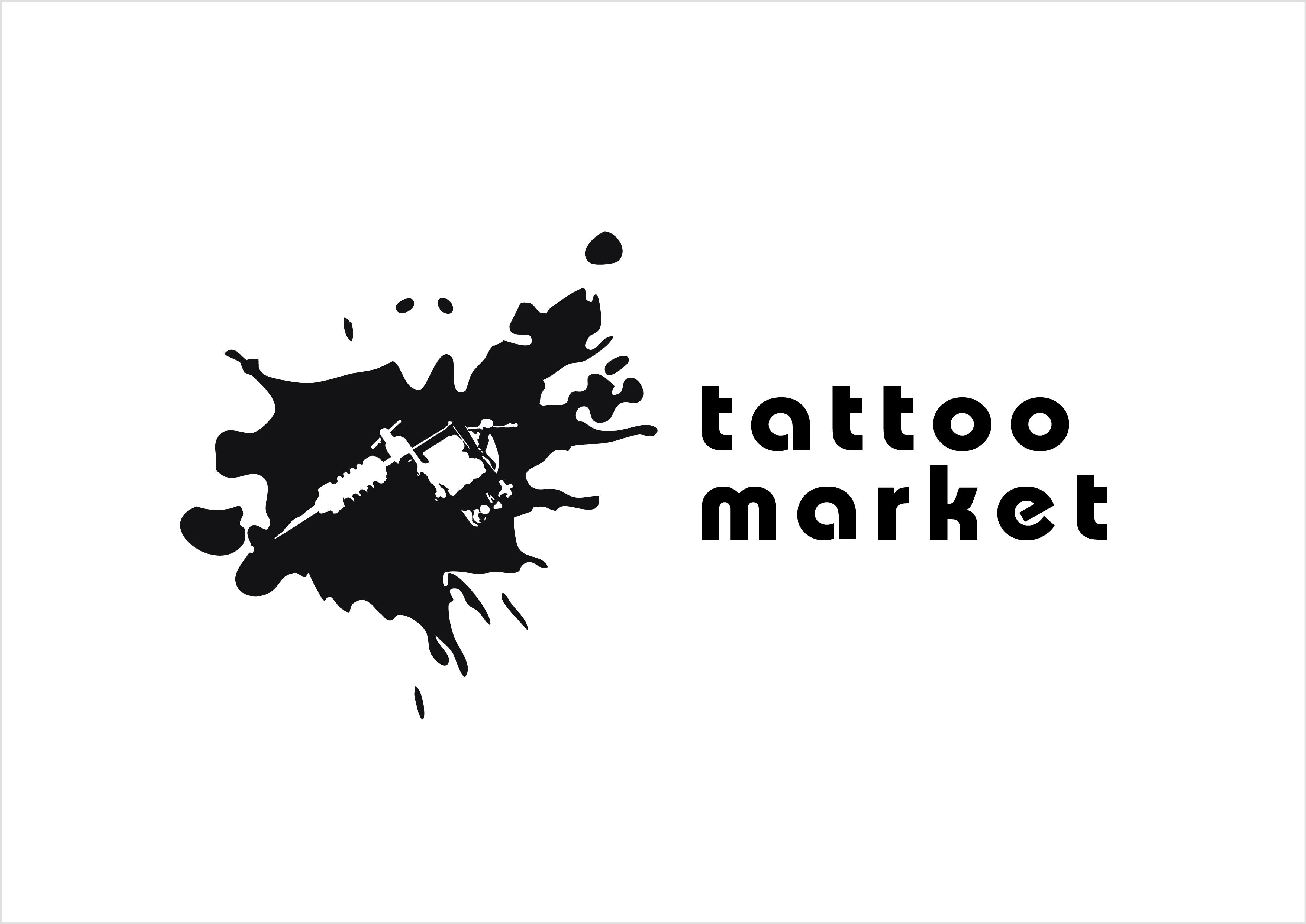 Редизайн логотипа магазина тату оборудования TattooMarket.ru фото f_3795c535583af1a2.jpg