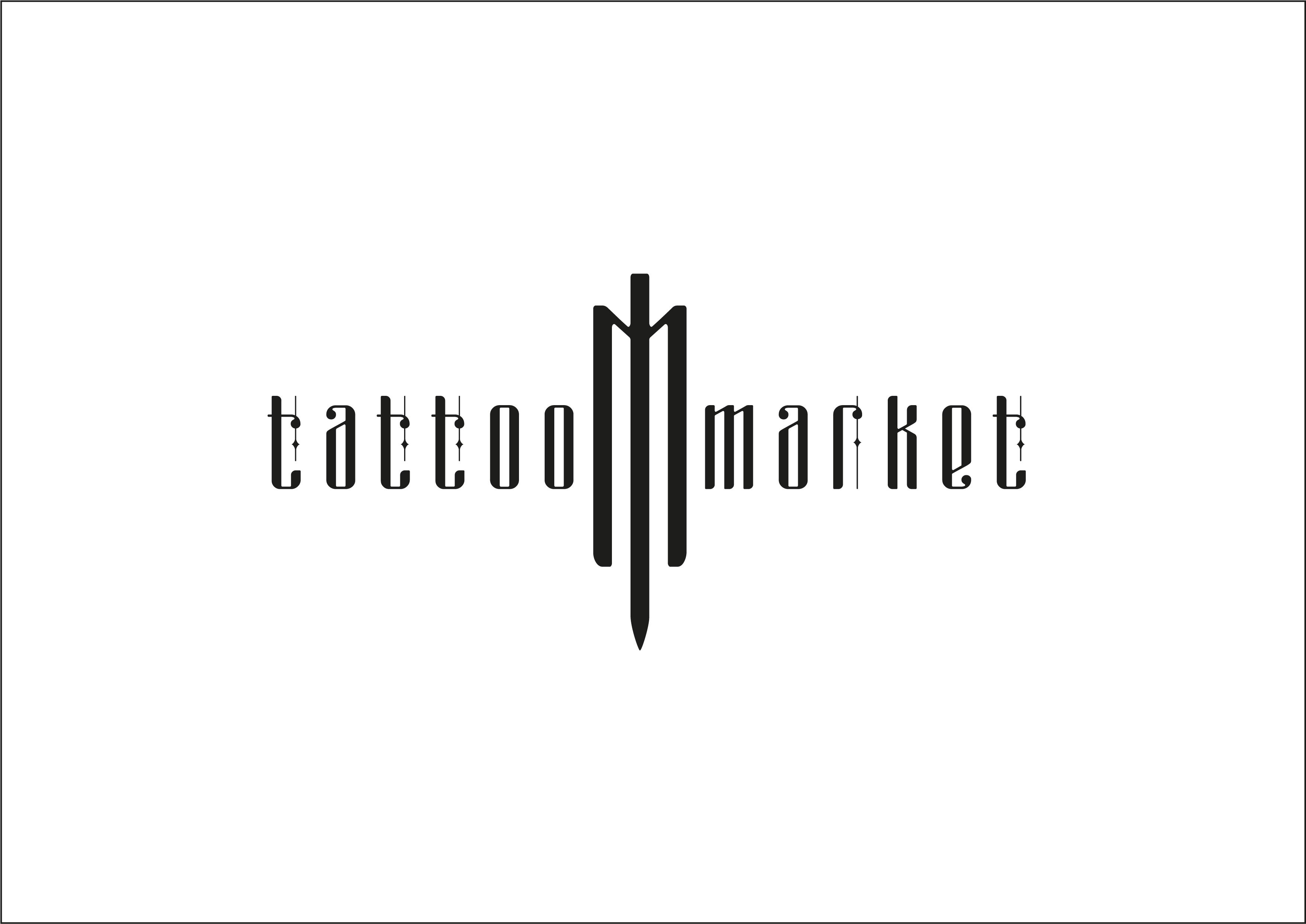 Редизайн логотипа магазина тату оборудования TattooMarket.ru фото f_4895c51c8013737b.jpg