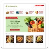 Партнерский сайт для магазина фруктовых корзин