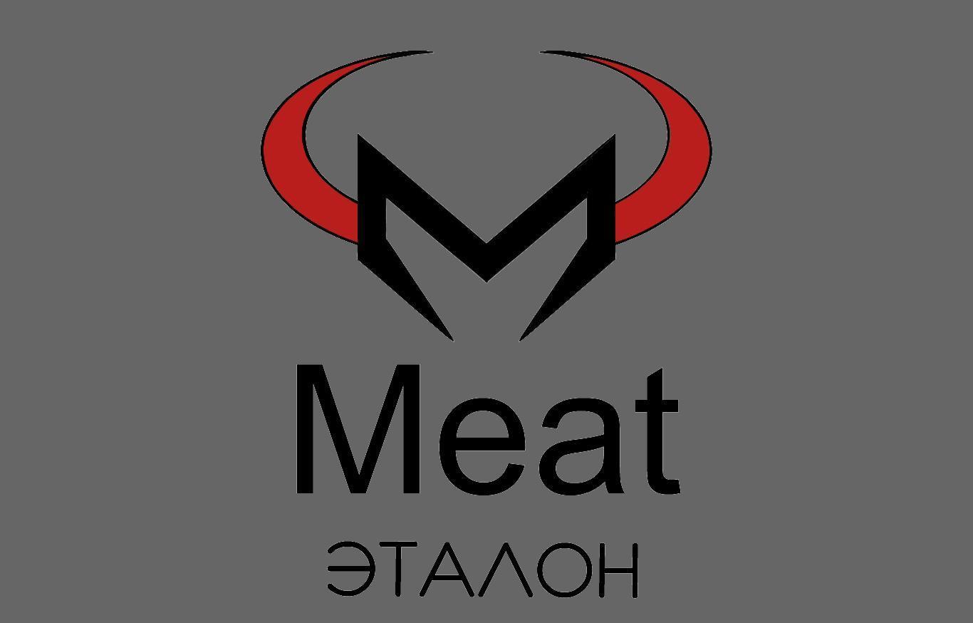 Логотип компании «Meat эталон» фото f_21656f3e4a93fc66.jpg
