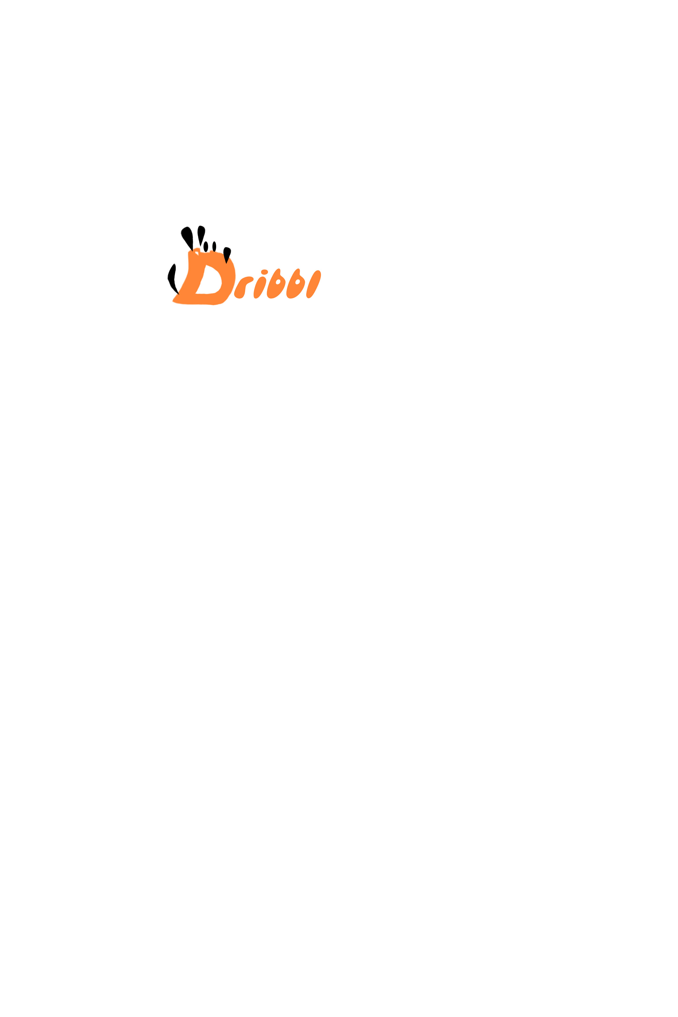 Разработка логотипа для сайта Dribbl.ru фото f_1825a9c0d5cb12af.jpg