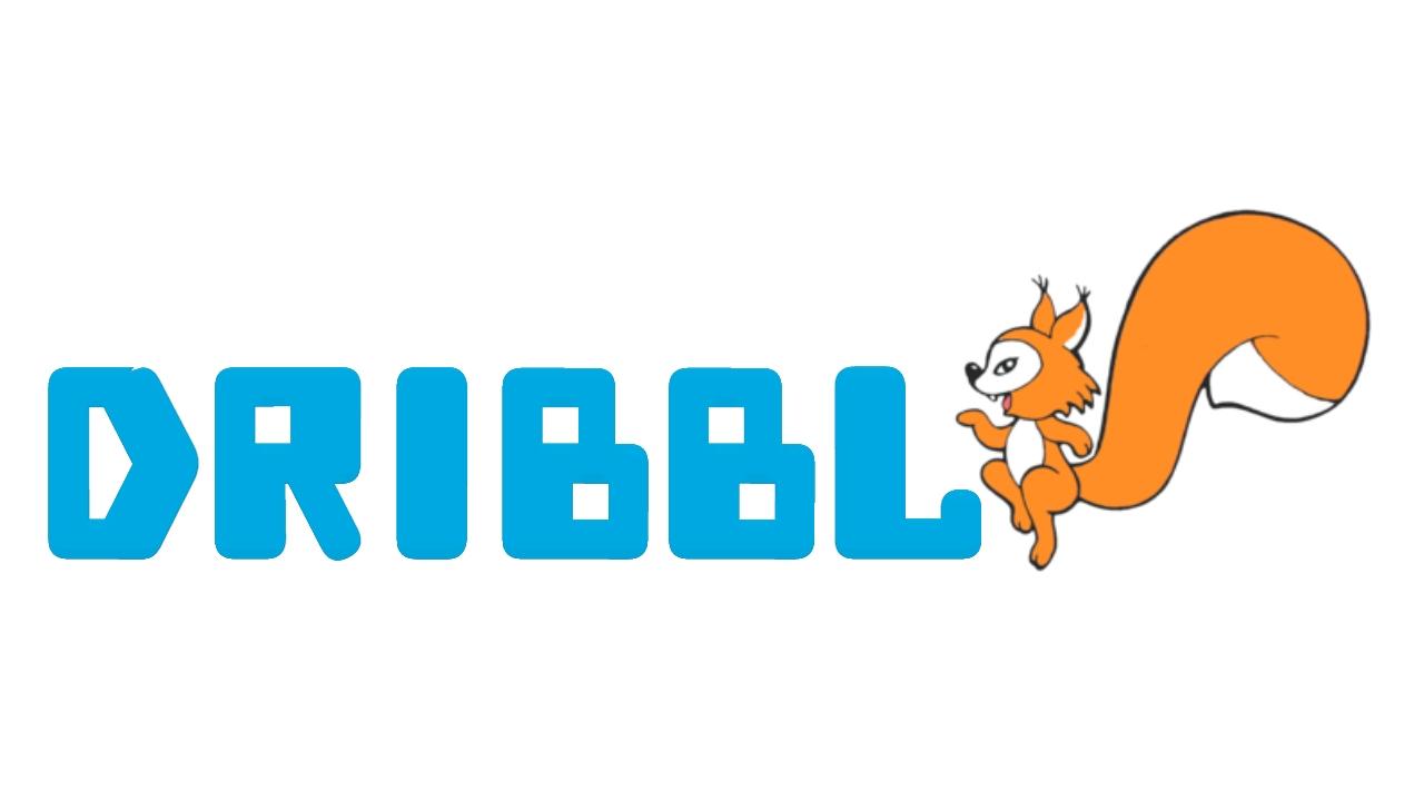 Разработка логотипа для сайта Dribbl.ru фото f_1515a9d144a26b14.jpg