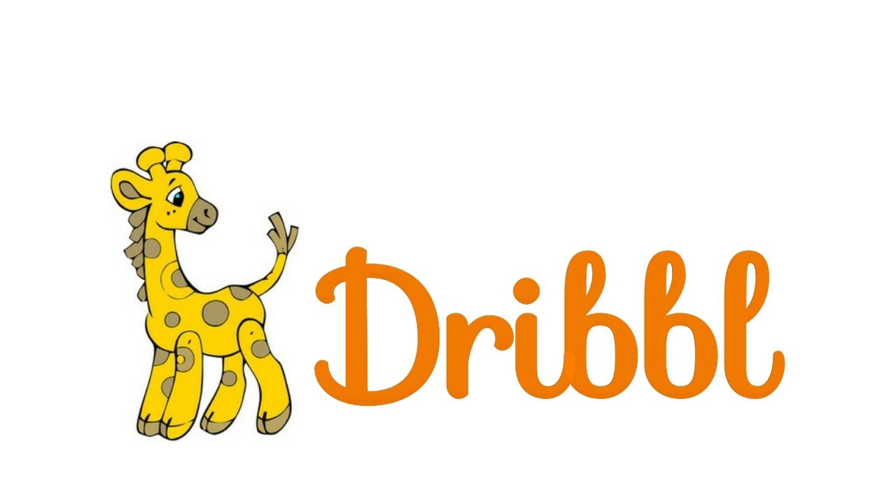 Разработка логотипа для сайта Dribbl.ru фото f_2015a9d146381b63.jpg