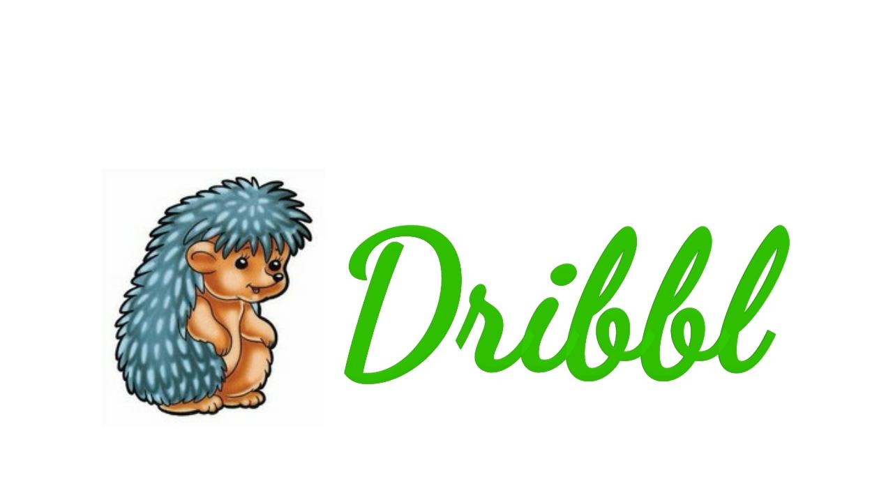 Разработка логотипа для сайта Dribbl.ru фото f_2965a9d145097a06.jpg