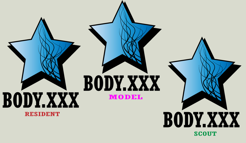 Разработка логотипа (видеоблог для моделей) фото f_6995b27d6e2e3c97.jpg