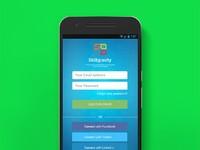 Дизайн мобильного приложения (1 экран)
