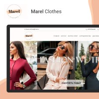 Магазин одежды на CMS Wordpress+Woocomersce