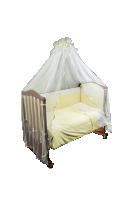 Кроватка с прозрачным навесом