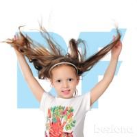 Обтравка девочка с динными волосами