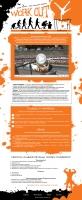 Дизайн для сайта фанатов уличного спорта
