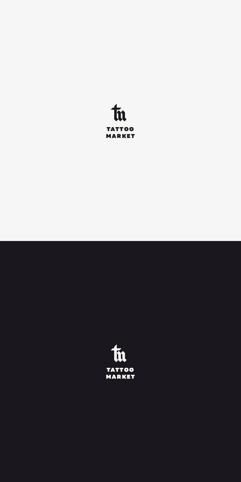 Редизайн логотипа магазина тату оборудования TattooMarket.ru фото f_9685c3faa466cb30.jpg