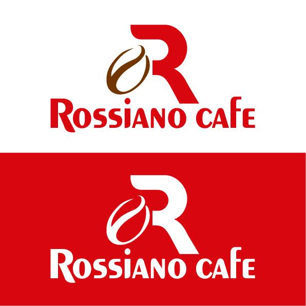 Логотип для кофейного бренда «Rossiano cafe». фото f_02557c7d17b96a95.jpg