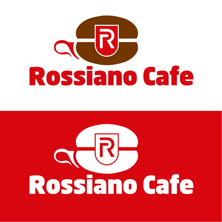 Логотип для кофейного бренда «Rossiano cafe». фото f_04657c7cea15520d.jpg