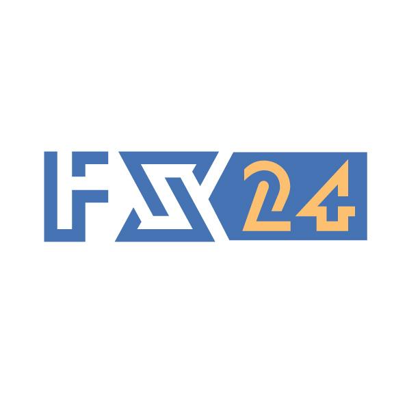 Разработка логотипа компании FX-24 фото f_134545d0a07934fb.jpg