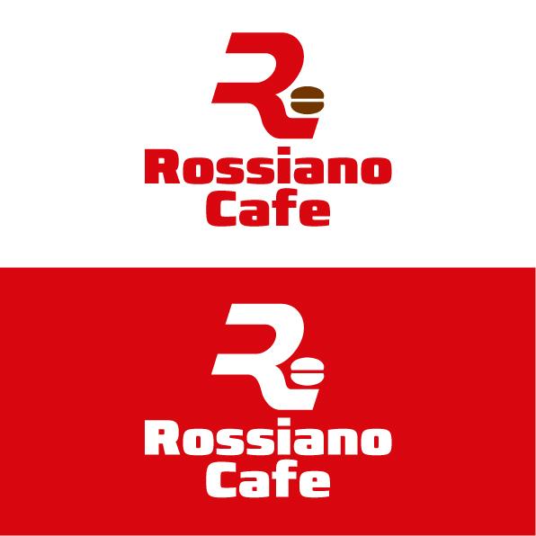 Логотип для кофейного бренда «Rossiano cafe». фото f_74757c7d50903875.jpg