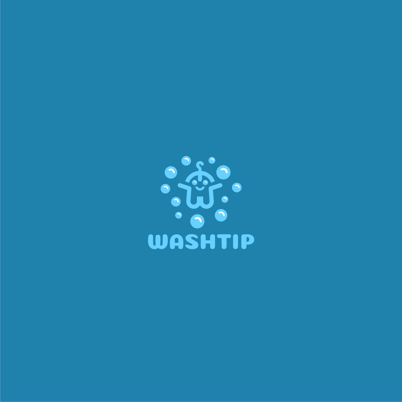 Разработка логотипа для онлайн-сервиса химчистки фото f_0965c0a8e0cc134c.png