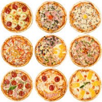 Доставка пиццы от «Пицца Geree» (на буклет)