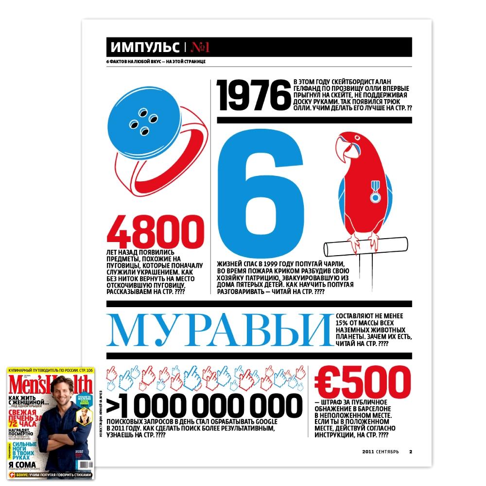 Men's Health / Сентябрь 2011