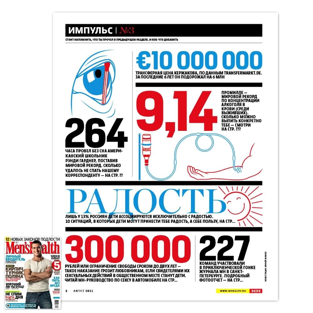 Men's Health / Август 2011