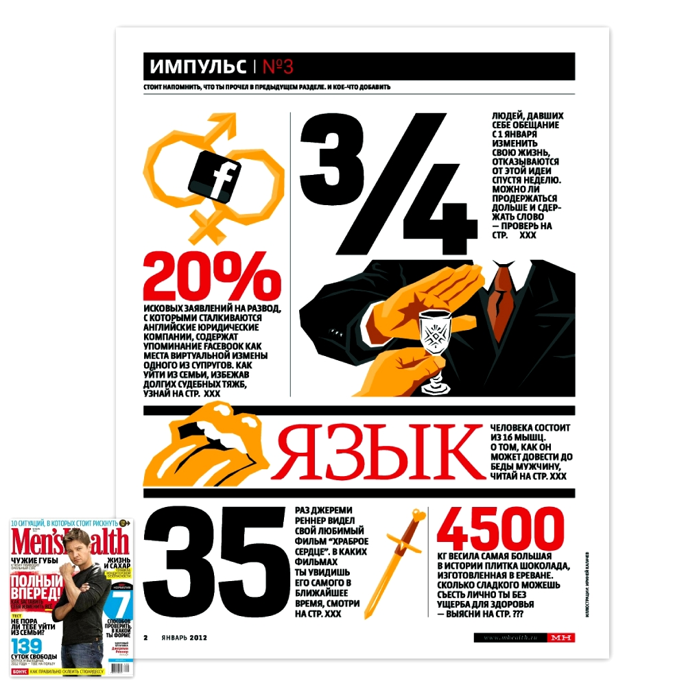 Men's Health / Январь 2012