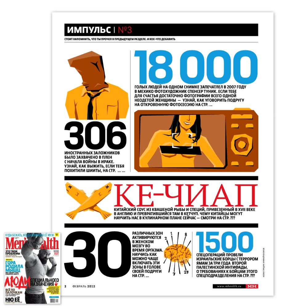 Men's Health / Февраль 2012