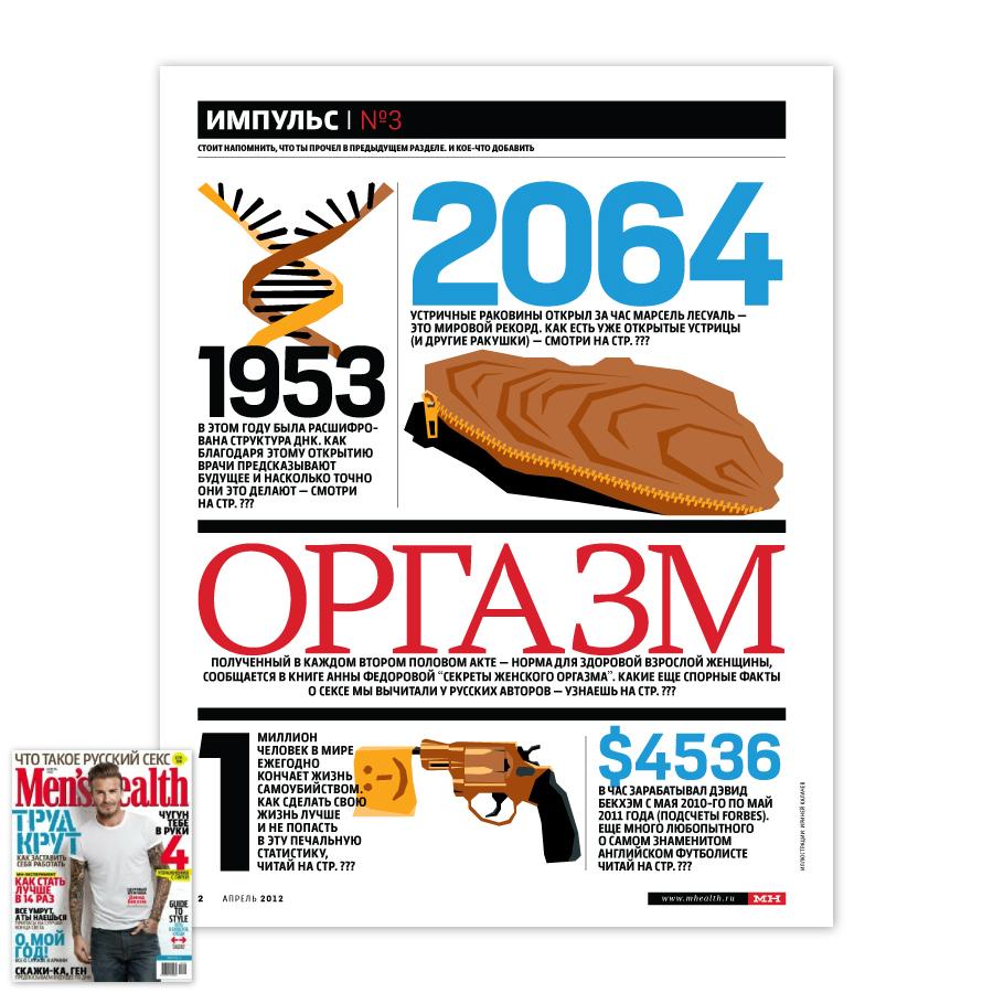 Men's Health / Апрель 2012