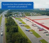 Ролик открытия завода Ontex в Ногинске