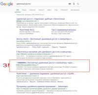 Удаленный доступ Google.ru - 3 место - 2020