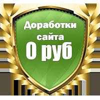 Бонусные часы от программиста и дизайнера при бюджете от 14000 рублей!