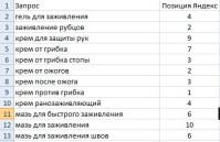 Позиции сайта biopokrov.ru