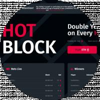 Верстка сайта Hot Block